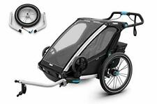 Thule Chariot Sport 2 Black Edition Zweisitzer Kinderanhänger 2020   10201012