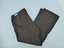 NWD WOMENS LEE CURVY FIT TROUSER PANTS BROWN CITY SIZE 16Px28
