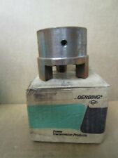 """NEW GERBING KEYED BORE CAST IRON JAW COUPLING G-1000 X 1 1/2 404-8190 1 1/2"""" ID"""
