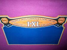 Rare Heavy Old  Original IXL Cutlery Knives Cardboard Counter Display