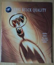BUICK qualità sicurezza e protezione ORIG 1995 USA mercato pubblicazione patinata
