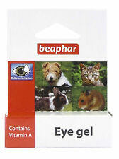 Beaphar Eye Gel Soothes Irritation Cleans Eye Cats Dogs Rabbit Hamster Gerbil