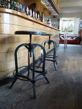 Tabouret de bar réglable (66-85CM) ARTISAN style industriel