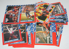 AMERICAN GLADIATORS TV SHOW TRADING CARD LOT/30 CARDS ASST 1991
