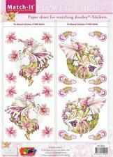 Match It Paper - Flower Fairies - Mallow & Vetch - Free P+P - SALE