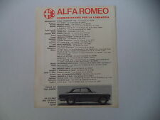 advertising Pubblicità 1967 ALFA ROMEO GT 1300 JUNIOR