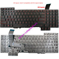 New for Asus G751J G751JL G751JM G751JT G751JY series Laptop Keyboard RED Letter