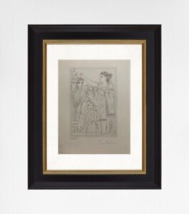 Pablo Picasso 1962 Original Print, Hand Signed with Certificate of Authenticity
