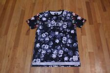 GOOD FOR NOTHING MONOCHROME ROSE COLOR SLEEVE LOGO TEXT TEE SIZE M NEW