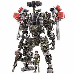JoyToy SteelBone H07 Firepower 9in Mecha Robot & 1:18 Pilot Action Figure JT0210