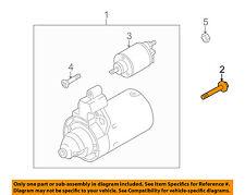 AUDI OEM 09-12 Q5 3.2L-V6-Starter Mount Bolt N91129601