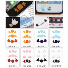 Macsight Cute Wing Colorful Design HomeButton Stickers 72pcs for iPhone 4,5,iPad