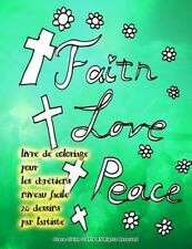 Livre de Coloriage Pour les Chrétiens Niveau Facile 20 Dessins Par L'artiste...