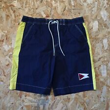 Tommy Hilfiger Mens Embroidered Flag Swim Trunks  Size XL