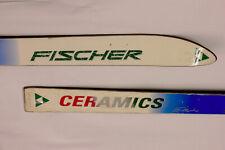 Fischer Elliptic Ceramic Skis 185cm no bindings