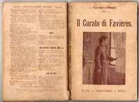 Il curato di Favieres, Giorgio Ohnet (Salani - Treves) 1919