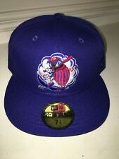 NWT New Era 59FIFTY MILB Piedmont Boll Weevils On Field Cap Hat 7 3/8 POLY