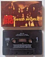 MR. BIG - Wild World / Temperamental -  CASSETTE Single ATLANTIC 1993