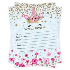 Unicorn Invitations Birthday Baby Shower Wedding Invitations Bridal Shower 20