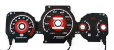 Type R Red Glow 1999-2000 Honda Civic EK Si Gauges Face Overlay JDM