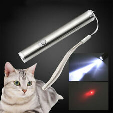800Mile 650nm Red Laser Pointer Pen Aa 2in1 Flashlight Mini Bright Light Pet Toy