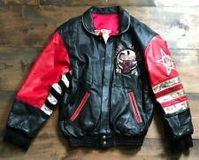 Jeff Hamilton Chicago Bulls Jacket-Limited Edition-NBA-Leather-Size M-Champions