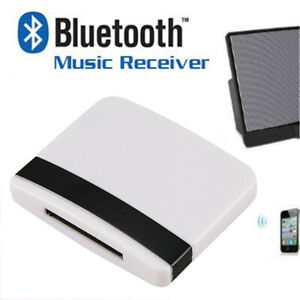 30 Pins Audio Bluetooth 2.0 Wireless Bluetooth for iPhone iPod Wireless Adapter