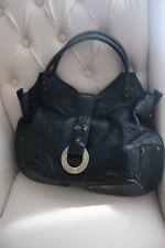 Charriol Black Leather Handbag