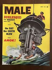 Male March 1954 Vol 4 No 3 Adventure / Exposé / Sports & Outdoors / Fiction