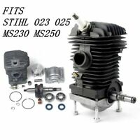 42.5MM ENGINE MOTOR CYLINDER PISTON KIT FOR STIHL 023 025 MS230 MS250 CHAINSAW