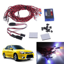 New GT POWER 12 LED Flashing Head Light Lamp System Kit RC Car 1/10