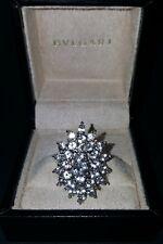 VERY SPARKLY CLASSIC PANETTA VINTAGE DRESS RING DIAMOND STYLE.