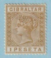 GIBRALTAR 36  MINT HEAVY HINGED OG * NO FAULTS VERY FINE !