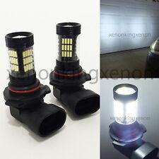 9005-HB3 Samsung LED 57 SMD White 6000K Headlight 2 x Light Bulbs #u3 High Beam