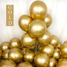 25Pcs Gold Chrome Shiny Metallic 12