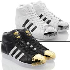 Scarpe da ginnastica sintetici marca adidas per donna superstar
