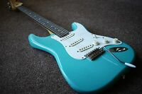 WARMOTH STRATOCASTER 2017 NITRO AGED RELIC'D ROAD WORN W/FENDER TEXAS SPECIALS