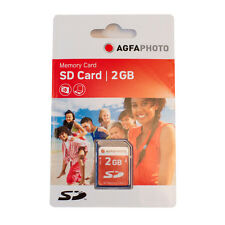 AGFA 2Gb SD MEMORY CARD - IDEAL FOR OLDER DIGITAL CAMERA MODELS
