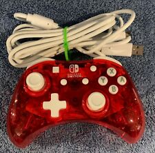 NINTENDO SWITCH ROCK CANDY STORMIN CHERRY WIRED CONTROLLER FULLY WORKING