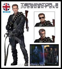 "NECA-Terminator 2 juicio Day-Deluxe Box Set - 7"" Acción Figura Modelo"