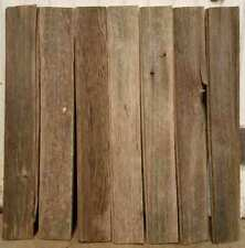 7 Reclaimed Vintage Old Barn Wood Lumber Ship Lap Boards Rustic Project sign 24""