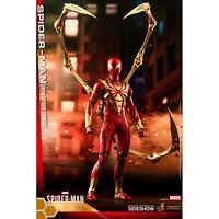 Hot Toys Video Game Masterpiece Spider-Man Iron Spider Armor Figure NEW