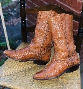 Vintage Cole Haan Cowboy Boots