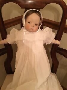 """Sugar Britches Boots Tyner Reproduction Girl Doll 19"""" 1989 Signed"""