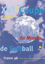 MERCI LES BLEUS France 98 document philatélique neuf MONTPELLIER timbres neufs