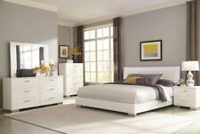 Coasters Furniture Felicity Queen Led Platform Bedroom Set