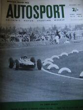 Autosport November 1st 1963 *Mexican Grand Prix & Lotus Elan LOV 1 Track Test*