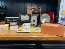 Vintage Polaroid 95 Land Camera Lot & Wink-Light, FlashGun & Sekonic Light Meter