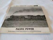 "Pacific Power - British Railways -  7"" vinyl EP record Argo ZFA 77"