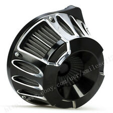 For Harley AN CNC Crafts Air Cleaner Intake Filter Touring Electra Glide 08-16